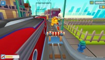 Subway Surfers Houston: Jumping Hoverboard Gameplay