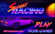 Sunset Racing: Menu
