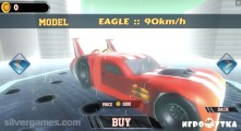 Super Car Stunts: Car Selection