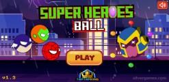 Super Heroes Ball: Menu