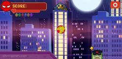 Super Heroes Ball: Jumping Ball Gameplay