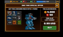 Super Mechs: Buying A Robot
