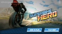 Superbike Hero: Menu