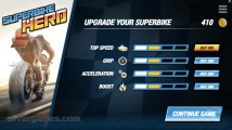 Superbike Hero: Upgrade Gameplay Motobike