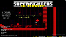 Superfighters 2 Ultimate: Menu