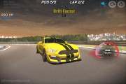 Supra Racing Turbo Drift: Yellow Racing Car