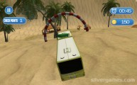 Surfer Bus Simulator: Gameplay Bus Beach