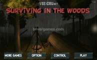 Surviving In The Woods: Menu