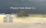 Tank Battle Simulator 3D: Menu