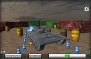 Tank Parking 3D: Menu