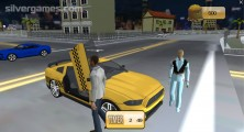 Taxi Simulator 2019: Guests Cab Gameplay
