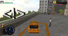 Taxi Simulator: Gameplay Picking Up Customer