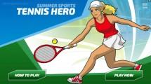 Tennis Hero: Menu