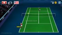 Tennis Hero: Gameplay Tennis Duell