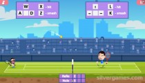 Tennis Masters: Gameplay 2 Players Tennis