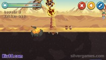 Terror Of Deep Sand: Gameplay Monster Destruction