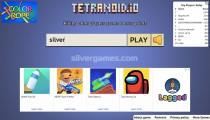 Tetranoid.io: Menu