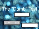 The DUMB Test: Menu