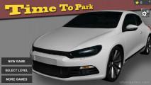 Time To Park: Menu Parking