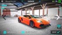 Top Speed Racing 3D: Menu