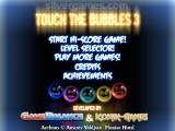 Touch The Bubbles 3: Menu
