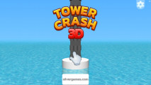 Tower Crash 3D: A Menu