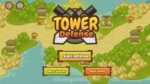 Tower Defense: Menu