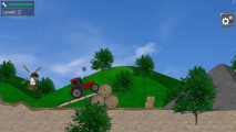 Tractor Trial: Truck Driving Obstacles