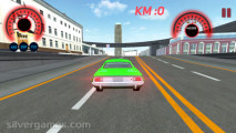 Traffic Car Racing 3D: Gameplay City Racing