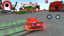 Traffic Car Racing 3D: Red Sports Car Drifting