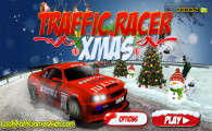 Traffic Racer Xmas: Menu