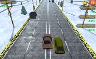 Traffic Racer Xmas: Gameplay Racing Fun