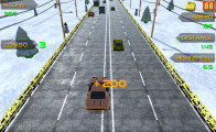Traffic Racer Xmas: Highway Passing Cars