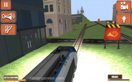 Train Simulator 2019: Train Crossing Street