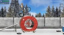 Trials Ice Ride: Gameplay Motobike