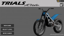Trials Ride: Menu