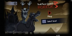 Trollface Quest: Horror 3: Menu