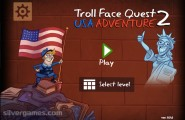 Trollface Quest USA 2: Menu