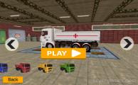 Truck Cargo Driver: Menu