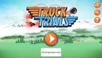 Truck Trials: Menu