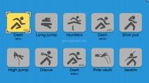 TRZ Leichtathletik Spiele: Athletics Gameplay