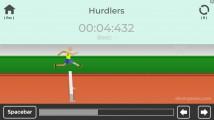 TRZ Leichtathletik Spiele: Hurdles Gameplay Jumping Olympics
