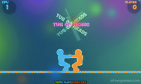 Tug Of Heads: Duell Gameplay