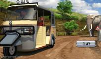 Tuk Tuk Driving Simulator: Menu