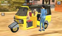 Tuk Tuk Driving Simulator: Passengers Dropping Off