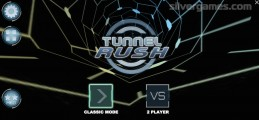 Tunnel Rush: Menu