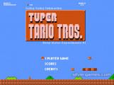 Tuper Tario Tros: Menu
