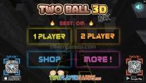 Two Ball 3D: Dark: Menu