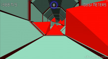 Two Tubes 3D: Gameplay Red Cubes