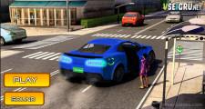 Uber Taxi Driver 3D: Menu